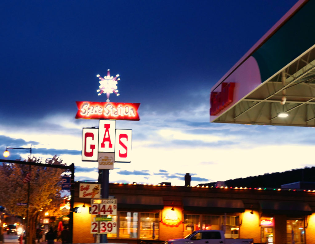 gas-station, travel, road-trip, space, space-station, steamboat-springs, leica, photography,